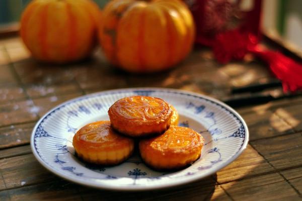 #拉歌蒂尼菜谱#金光灿烂南瓜饼的做法