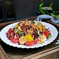 #520,美食撩动TA的心!#藜麦时蔬鸡胸沙拉的做法图解12