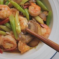 口蘑芦笋炒虾仁的做法图解32
