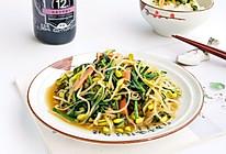 #新春美味菜肴#豆芽炒韭菜的做法