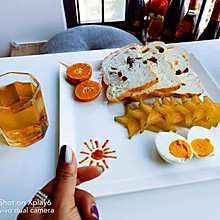 一个人的简单早餐