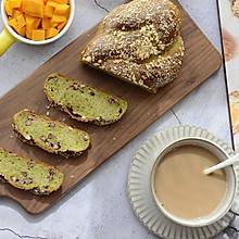抹茶蜜豆辫子面包