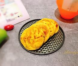 #母亲节,给妈妈做道菜#葱香南瓜饼的做法