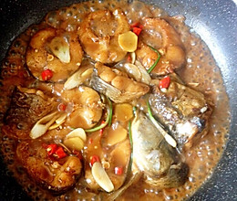 最简单红烧鱼块做法的做法