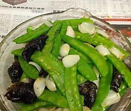 木耳百合荷蘭豆的做法