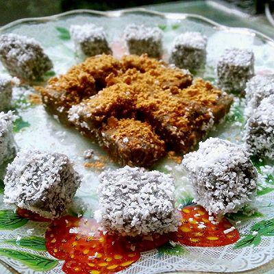 山药芝麻凉糕『免烤甜品』