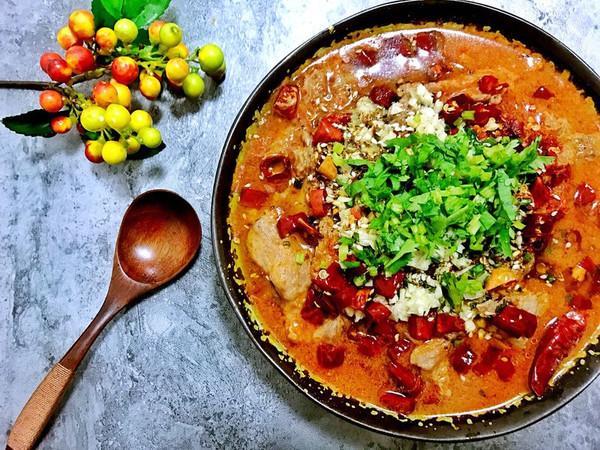 四川香辣水煮牛肉-在家做出饭店的味道的做法