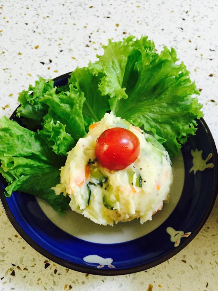 日式土豆泥沙拉