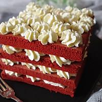 美味的红丝绒蛋糕的做法图解19