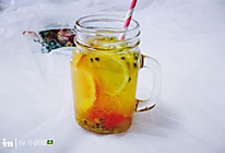 西柚百香果柠檬茶的做法