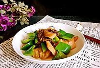 青椒羊肚菌炒松板肉#春天不减肥,夏天肉堆堆#的做法
