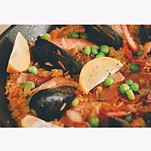 西班牙海鲜饭Paella#一起吃西餐#
