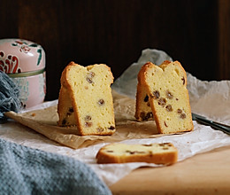 酒香葡萄干磅蛋糕的做法