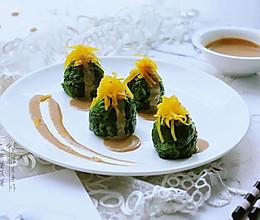 冷菜——【麻酱菠菜】的做法