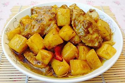 香辣土豆咖喱鸡翅--雄鸡标椰浆试用报告四