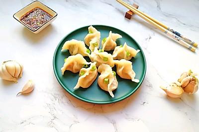 鸡肉红萝卜玉米馅饺子