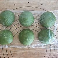 抹茶蜜豆辫子面包的做法图解9