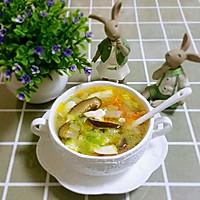 白菜豆腐三丝汤的做法图解12