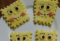 海绵宝宝面包片的做法