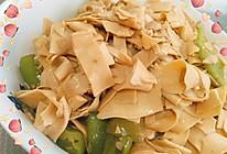 尖椒干豆腐~的做法