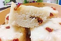 红枣葡萄干发糕的做法