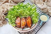 芥末沙拉烤鸡翅#硬核菜谱制作人#的做法