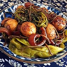 朝鲜族特色小菜—酱土豆