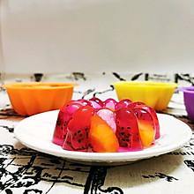 #童年不同样,美食有花样#水果果冻(白凉粉版)