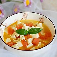 #春季食材大比拼#西红柿豆腐汤✧宝宝辅食