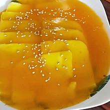 蜜汁奶豆腐
