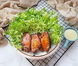芥末沙拉烤鸡翅#硬核菜谱制作人#