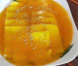 蜜汁奶豆腐的做法
