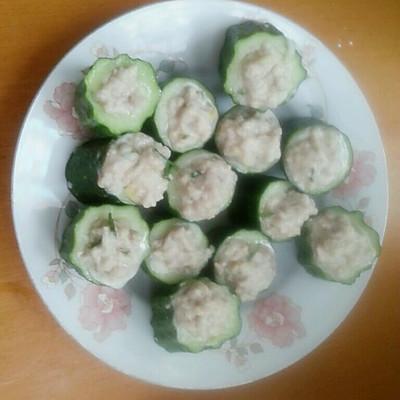 【小鲜肉的诱惑】黄瓜蒸肉