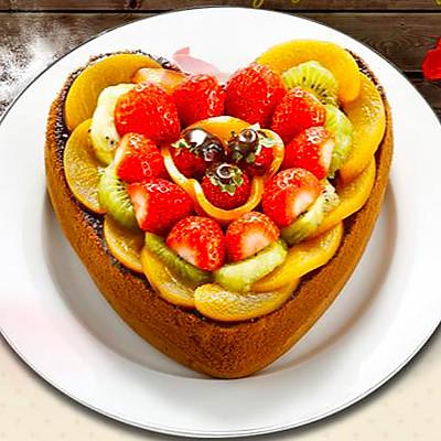 教你如何制作情人节心形威风蛋糕