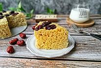 牛奶红枣发糕#夏日下饭菜#的做法