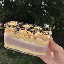 甜品=发胖,out了吧,低卡低脂芋泥盒子