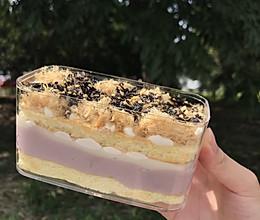 甜品=发胖,out了吧,低卡低脂芋泥盒子的做法