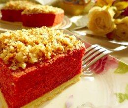 红丝绒海绵蛋糕的做法