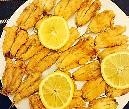 酥炸凤尾鱼的做法