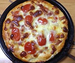 培根火腿披萨的做法