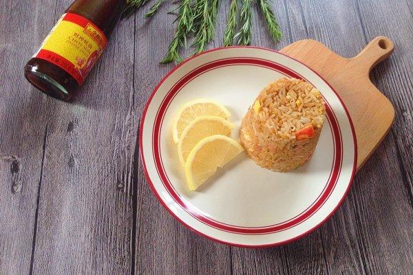 蚝油杂锦炒饭#厨比之外,锦享美味#的做法