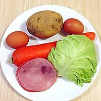 健康早餐土豆鸡蛋饼的做法图解1