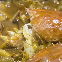 梭子蟹炒年糕的做法图解6