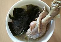 海带鸭汤的做法