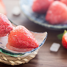 草莓冰糖葫芦