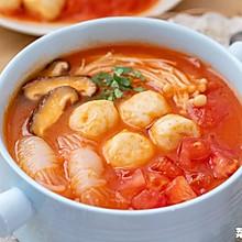 番茄鱼丸汤| 脆嫩爽口