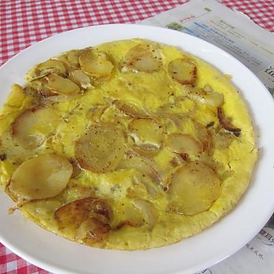 【西班牙蛋饼】Tortilladepatatas
