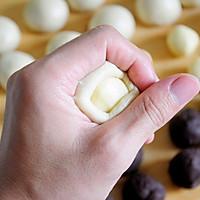 红豆沙千层酥 国庆中秋双节伴手礼不只有月饼 没蛋黄的蛋黄酥的做法图解10
