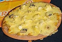 热带水果披萨的做法
