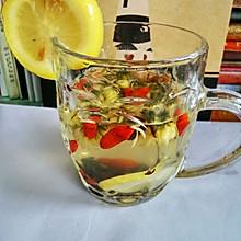 玫瑰菊花枸杞柠檬茶